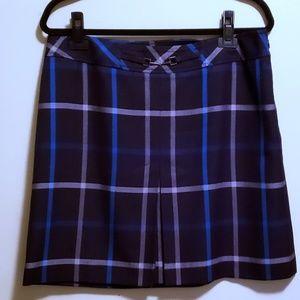 🌹Just In🌹ANN TAYLOR LOFT Petite Plaid Skirt
